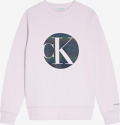 Calvin Klein Jeans Sweatshirt in dunkelblau / rosa, Produktansicht