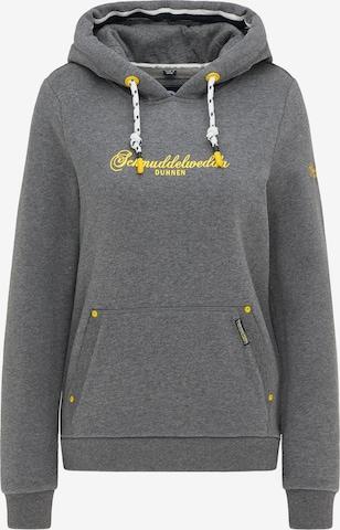 Schmuddelwedda Sweatshirt 'Duhnen' in Grey