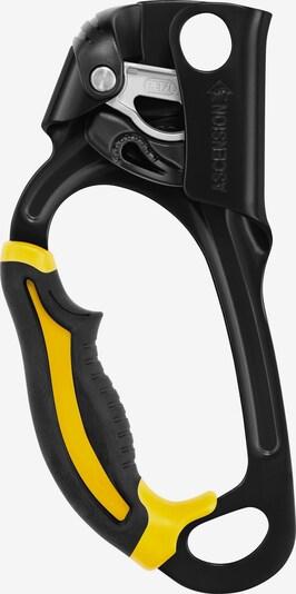 PETZL Klemmgerät 'Ascension' in gelb / schwarz, Produktansicht