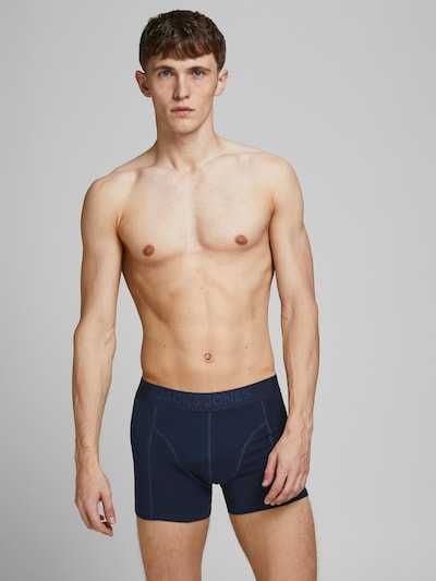 JACK & JONES Calzoncillo boxer 'JAMES' en navy / azul noche / azul moteado, Vista del modelo