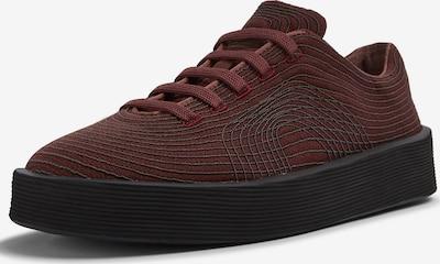 CAMPER Sneaker ' Courb ' in burgunder / schwarz, Produktansicht