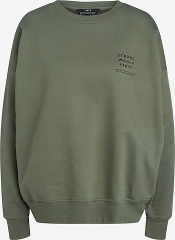 SET Sweatshirt in Green
