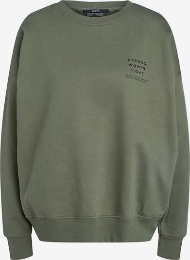 SET Sweatshirt in Khaki / Black, Item view