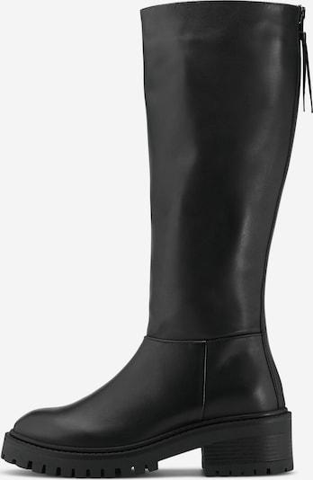 COX Klassische Stiefel Plateau-Stiefel in schwarz, Produktansicht
