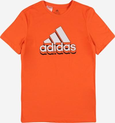 ADIDAS PERFORMANCE Sportshirt in creme / tanne / orange, Produktansicht