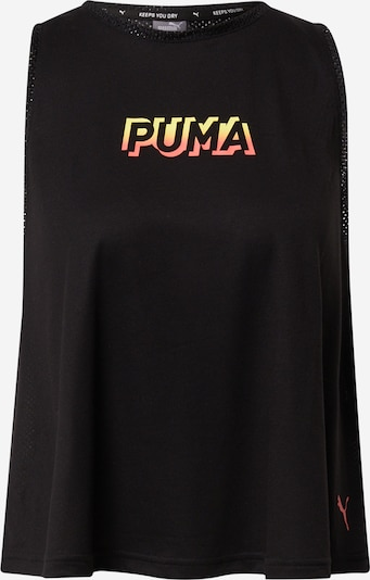 sárga / narancs / fekete PUMA Sport top, Termék nézet