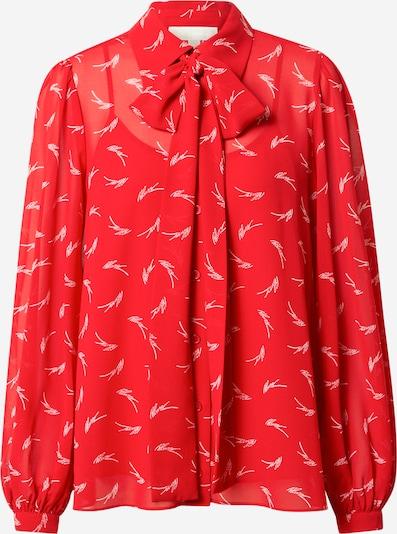 MICHAEL Michael Kors Blouse in de kleur Rood / Wit, Productweergave