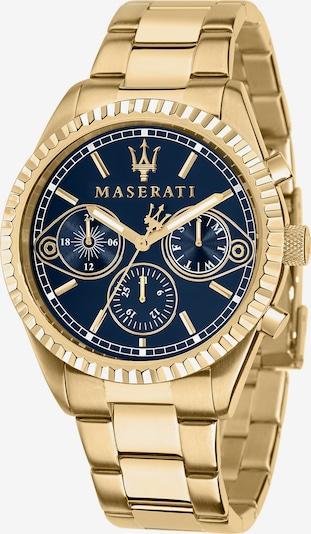 Maserati Uhr in gold, Produktansicht
