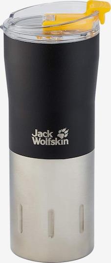 JACK WOLFSKIN Thermoskan 'Kariba' in de kleur Zwart / Zilver, Productweergave