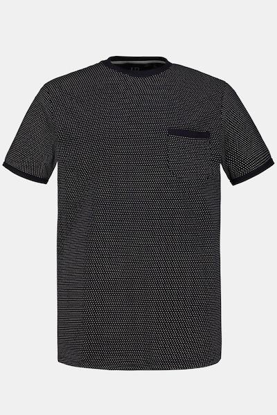 JP1880 JP 1880 Herren große Größen Schlaf-Shirt 721263 in navy, Produktansicht