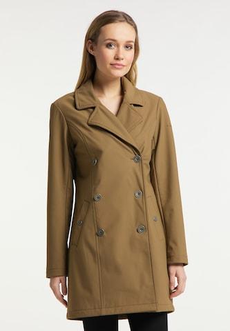 DreiMaster Klassik Between-Seasons Coat in Brown