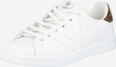 VICTORIA Baskets basses 'TENIS' en marron / noir / blanc, Vue avec produit
