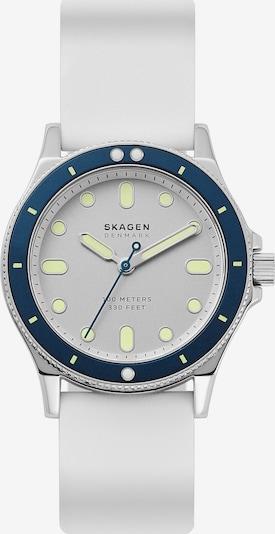 SKAGEN Uhr in blau / silber / weiß, Produktansicht