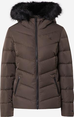 ruda Calvin Klein Jeans Žieminė striukė
