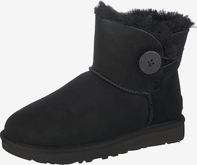 UGG Boots 'Mini Bailey Button II' in schwarz, Produktansicht