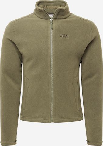 JACK WOLFSKIN Bluza polarowa 'MOONRISE' w kolorze zielony