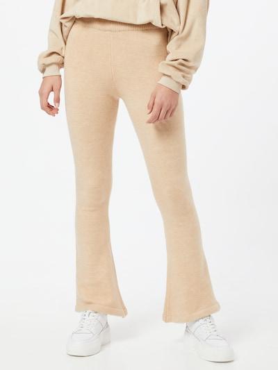 Daisy Street Pantalon 'BECKY' en beige, Vue avec modèle