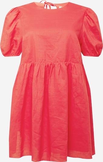 GLAMOROUS CURVE Kleid in melone, Produktansicht