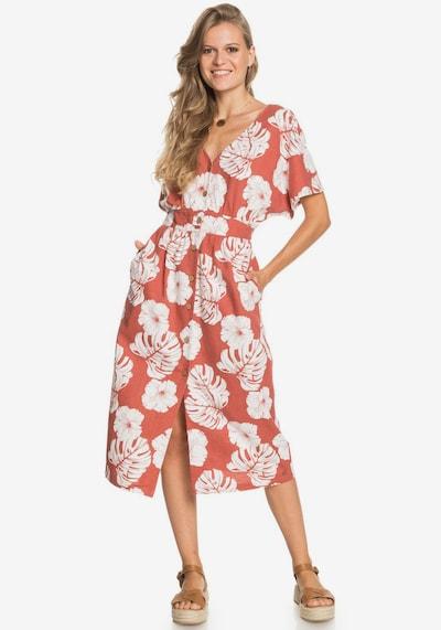 ROXY Roxy Sommerkleid in rot / weiß, Modelansicht