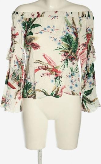 SassyClassy Carmen-Bluse in S in creme / grün / rot, Produktansicht