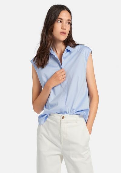 DAY.LIKE Bluse in blau / hellblau, Modelansicht