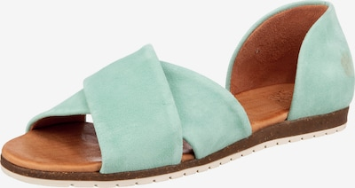 Apple of Eden Sandale 'Chiusi' in mint, Produktansicht