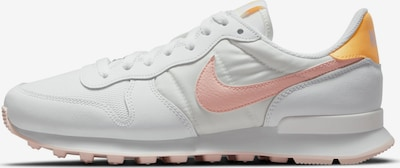 Nike Sportswear Baskets basses 'Internationalist' en orange / orange pastel / blanc, Vue avec produit