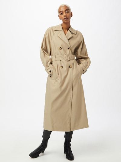 """IVY & OAK Преходно палто в цвят """"пясък"""": Изглед отпред"""