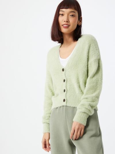 Cotton On Strickjacke 'SUPER LUXE' in pastellgrün, Modelansicht