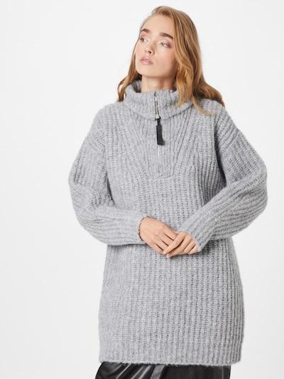 Rochie tricotat 'Stevetta' HUGO pe gri deschis, Vizualizare model