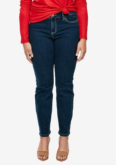 TRIANGLE Jeans in blau, Modelansicht