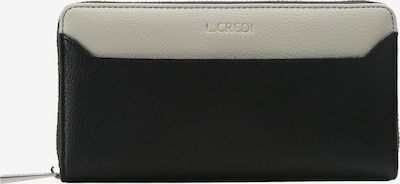 L.CREDI Portemonnee 'Farah' in de kleur Zwart, Productweergave