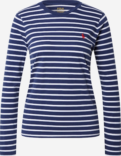 POLO RALPH LAUREN Shirt in navy / weiß, Produktansicht