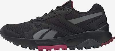 Reebok Sport Sportschuh in grau / rosa / schwarz, Produktansicht