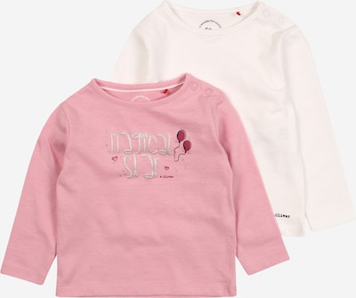 s.Oliver Shirt in pink / weiß, Produktansicht