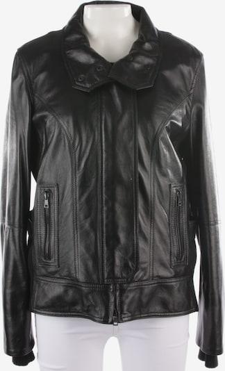 Marc Cain Lederjacke in XL in schwarz, Produktansicht