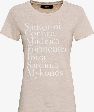 HALLHUBER T-Shirt aus Bio-Baumwolle mit Print in beige, Produktansicht
