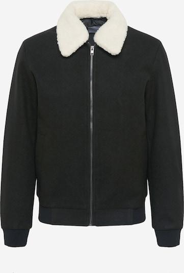 JACK & JONES Jacke 'HENRY' in schwarz / weiß, Produktansicht