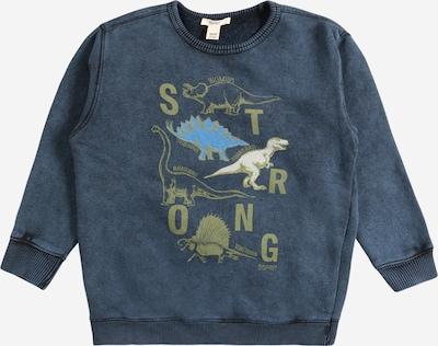 ESPRIT Sweatshirt in Navy / Light blue / Olive, Item view