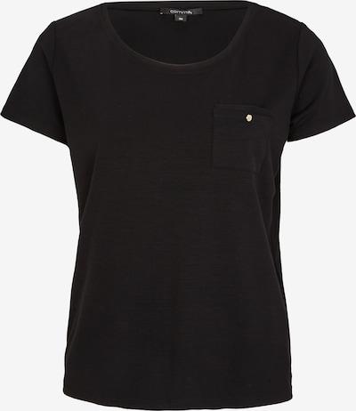 Tricou COMMA pe negru, Vizualizare produs