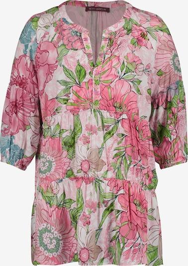 Betty Barclay Bluse in hellblau / grün / pink / hellpink, Produktansicht