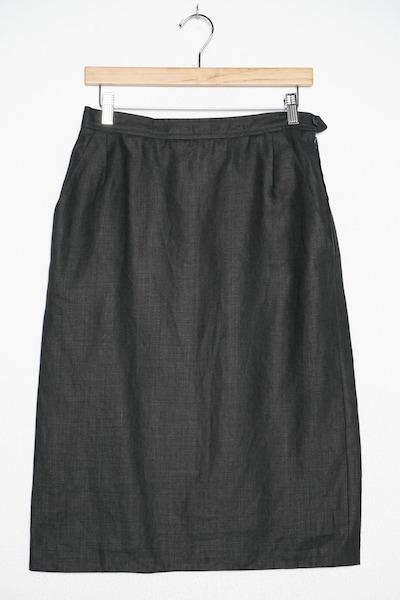 YVES SAINT LAURENT Rock in 6XL in schwarz, Produktansicht