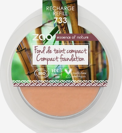 zao Foundation 'Compact' in beige, Produktansicht