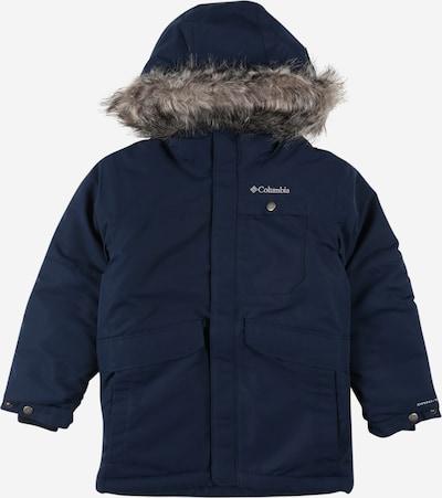 COLUMBIA Sportjas 'Nordic Strider' in de kleur Beige / Blauw, Productweergave