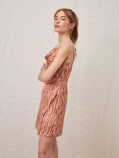 LeGer by Lena Gercke Kleid 'Clarence' in orange / altrosa, Modelansicht