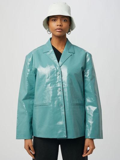 WEEKDAY Blazer 'Zana' | meta barva, Prikaz modela