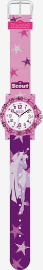 SCOUT Uhr in lila / mischfarben, Produktansicht