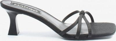 MANGO Absatz Pantoletten in 38 in schwarz, Produktansicht