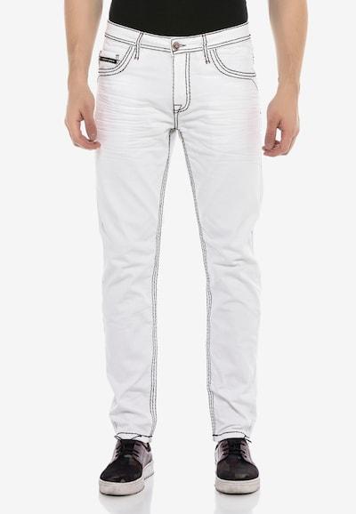 CIPO & BAXX Jeans 'Ivor' in weiß, Modelansicht