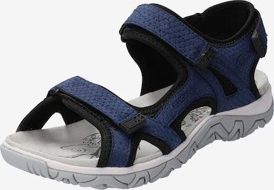 Allrounder Sandale in blau / nachtblau, Produktansicht